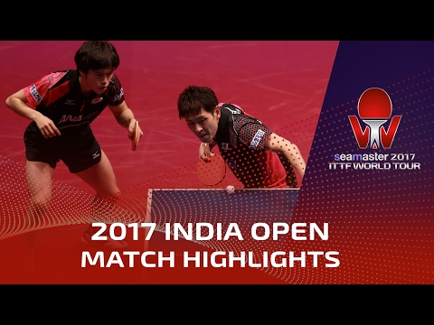 2017 India Open Highlights: Yuya Oshima/M.Morizono vs Achanta Sharath Kamal/Sanil Shetty (1/4)