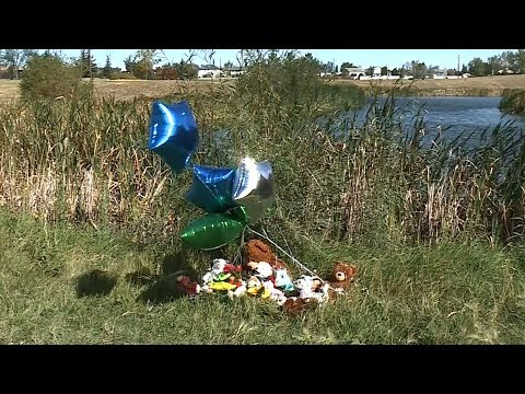Memorial growing for boy who died after being found in pond