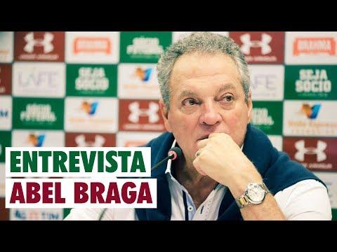FluTV - Fluminense 2 x 0 Atlético-PR - Coletiva - Abel Braga