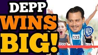 Depp WINS BIG as FANTASTIC BEASTS FAILS! Warner's RUNNING SCARED!