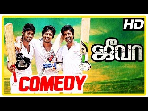 Jeeva Tamil movie | comedy scenes | Vishnu | Soori | Sri Divya | Lakshman Narayan