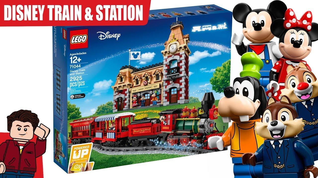 LEGO Disney Train and Station FINALLY REVEALED - GOOFY MINIFIGURE!!!