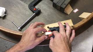 How To Fix a Broken Chipped/Cracked Table w/ Woodworking Skills - Gluing Wood Pieces