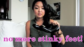 HOW TO: Get Rid of Stinky Smelly Feet INSTANTLY!