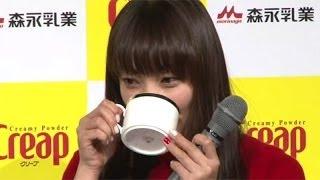 女優の菅野美穂さんが11月18日、東京都内で行われた「クリープ」のリニ...