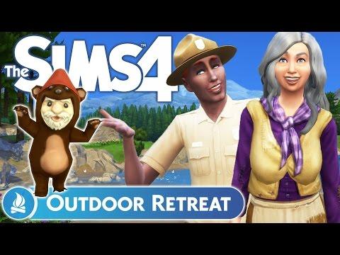 The Sims 4 Outdoor Retreat Granite Falls, Hermit
