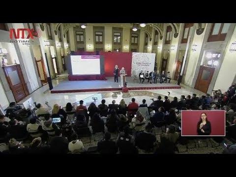 Conferencia de prensa de AMLO del 8 de febrero