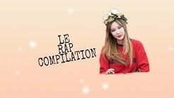 EXID LE rap compilation