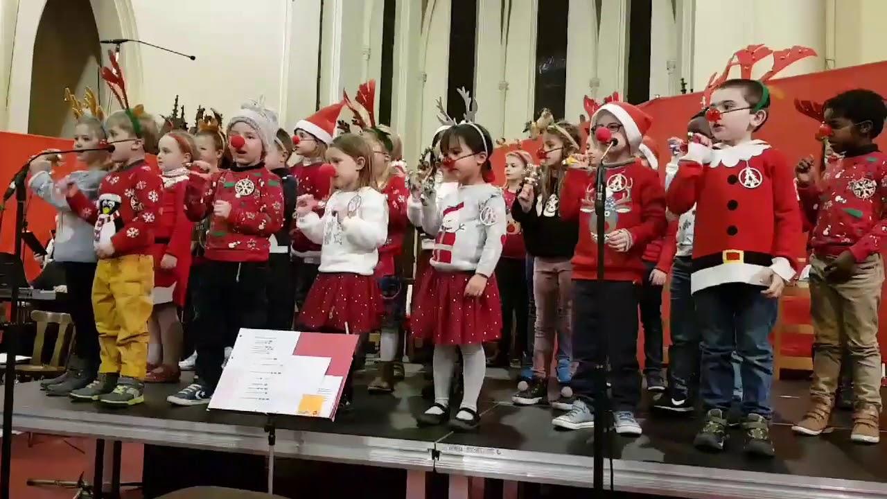 Chorale De Noel concert de noel 2o18 fanfare de ghlin chorale et enfants dimanche