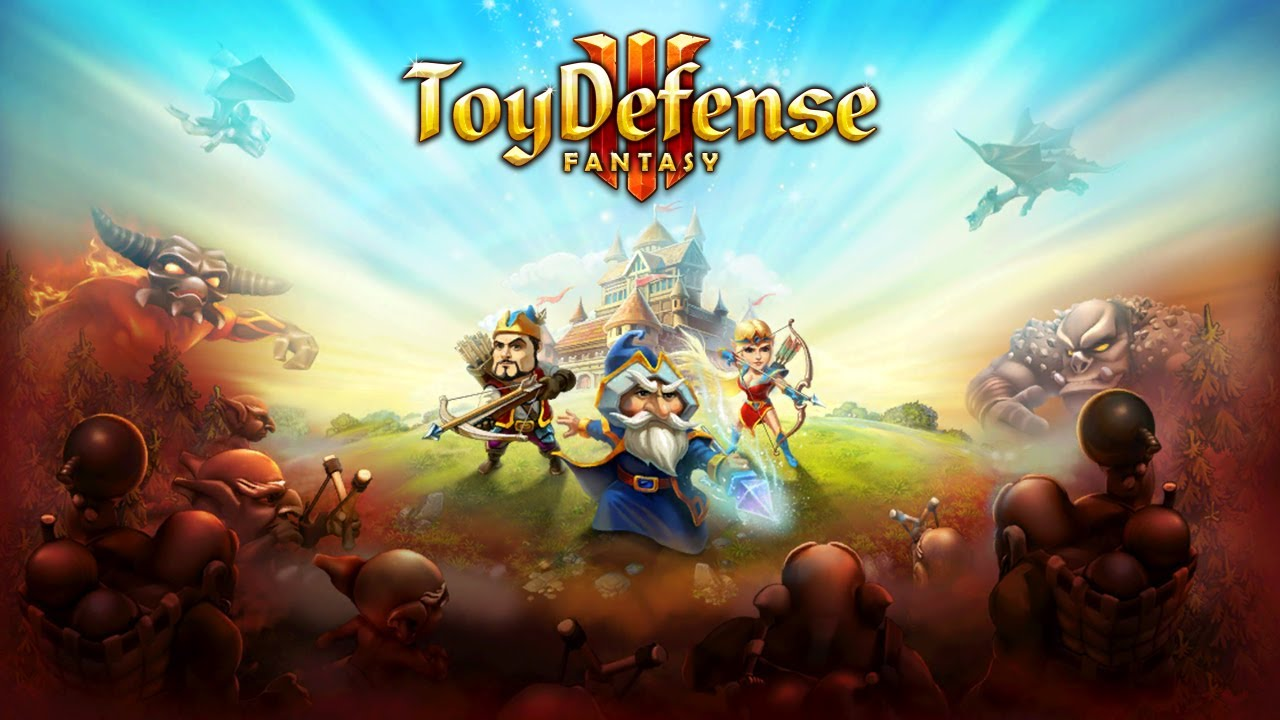 Toy Defense 3: Fantasy - iPhone/iPod Touch/iPad - HD Gameplay Trailer