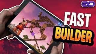 FAST MOBILE BUILDER ON IPAD | Playing Against PC Players | 700+ Wins | Fortnite Mobile Gameplay