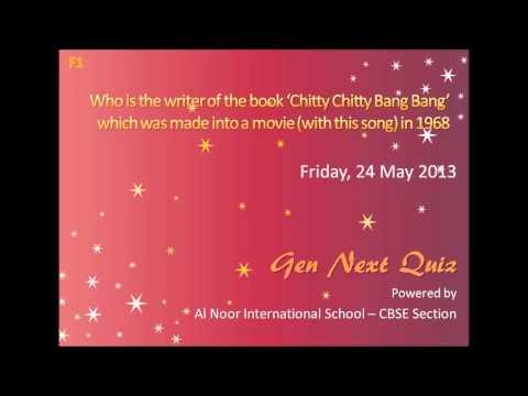 Who wrote the book 'Chitty Chitty Bang Bang'?