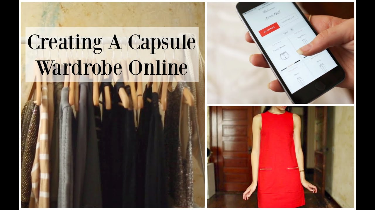How to Build A Capsule Wardrobe line Step by Step line Tool