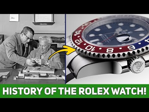 The Amazing History Of The Rolex Watch | Most Expensive Watch Ever