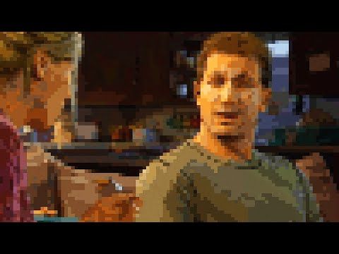 Uncharted 4: A Thief's End - 8-Bit Version
