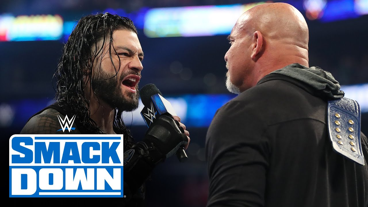 Download Roman Reigns emerges as next challenger for Universal Champion Goldberg: SmackDown, Feb. 28, 2020