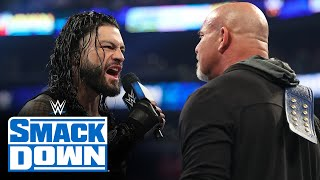 Roman Reigns emerges as next challenger for Universal Champion Goldberg: SmackDown, Feb. 28, 2020