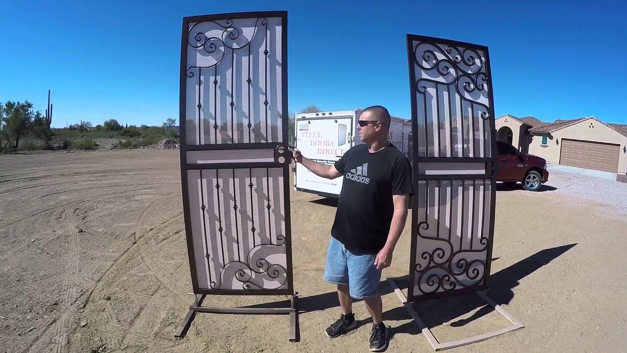 Custom Security Doors Arizona - YouTube