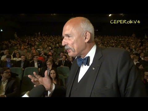 Janusz Korwin-Mikke o imigrantach (rozmowa z TVN 24)