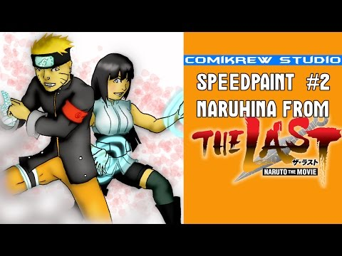 Comikrew Speedpaint #2 : Naruhina From The Last Naruto The Movie