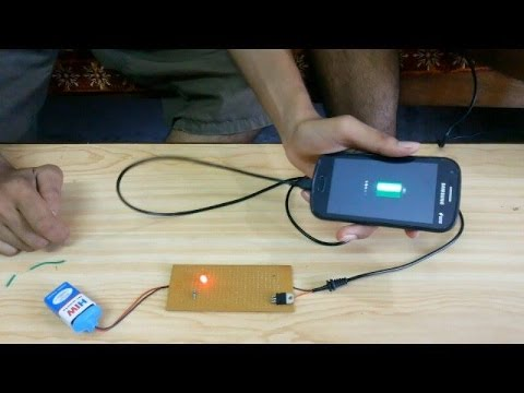How To Make Portable Mobile Charger Youtube