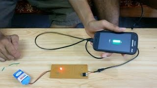 How to make PORTABLE MOBILE CHARGER