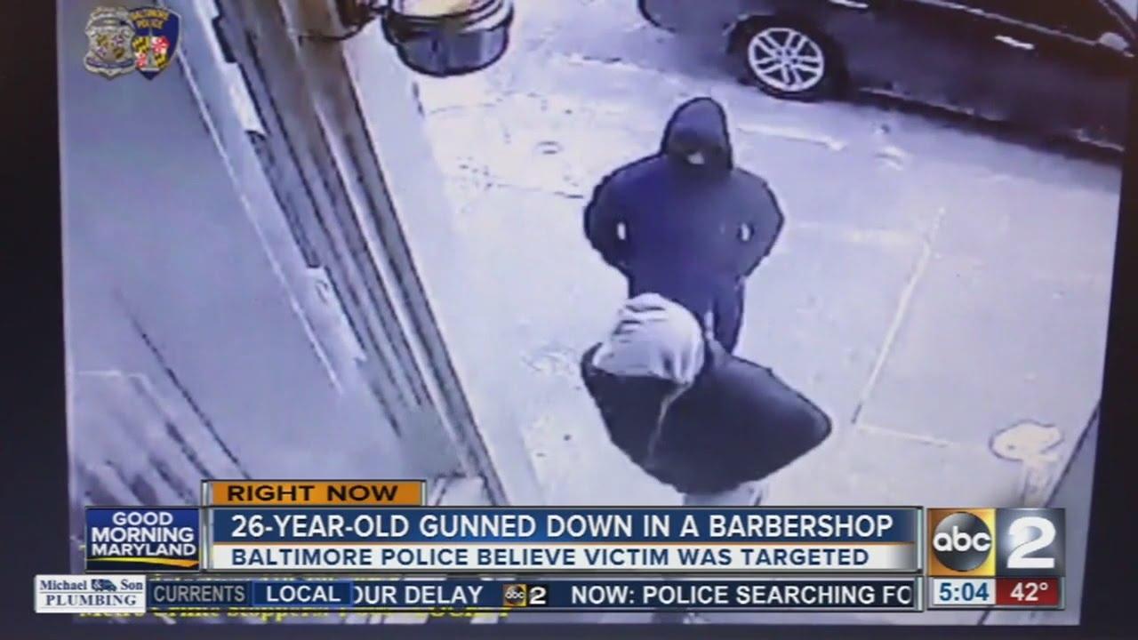 Man Shot Inside Barbershop In East Baltimore Youtube