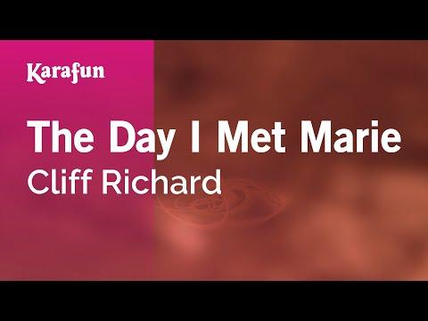 Karaoke The Day I Met Marie - Cliff Richard *