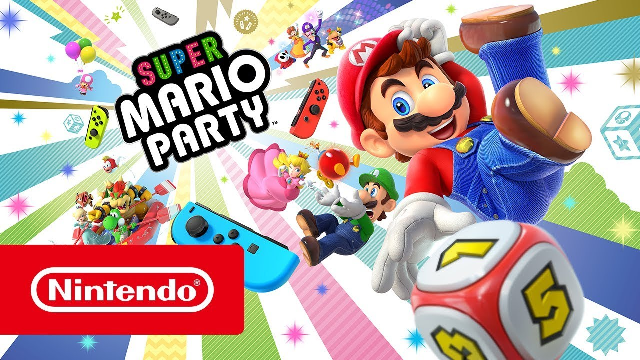 Super Mario Party Trailer De Lanzamiento Nintendo Switch Youtube