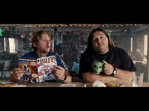 Paul | OFFICIAL trailer #1 US (2011) Simon Pegg