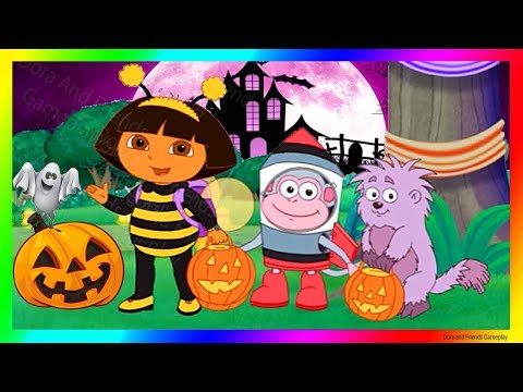 Dora the Explorer Games to play Cartoon 🎃 Dora and Friends Pumpkin Party | Dora Buji in Tamil