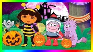 Dora The Explorer Games To Play Cartoon 🎃 Dora And Friends Pumpkin Party | Dora Buji In Tamil