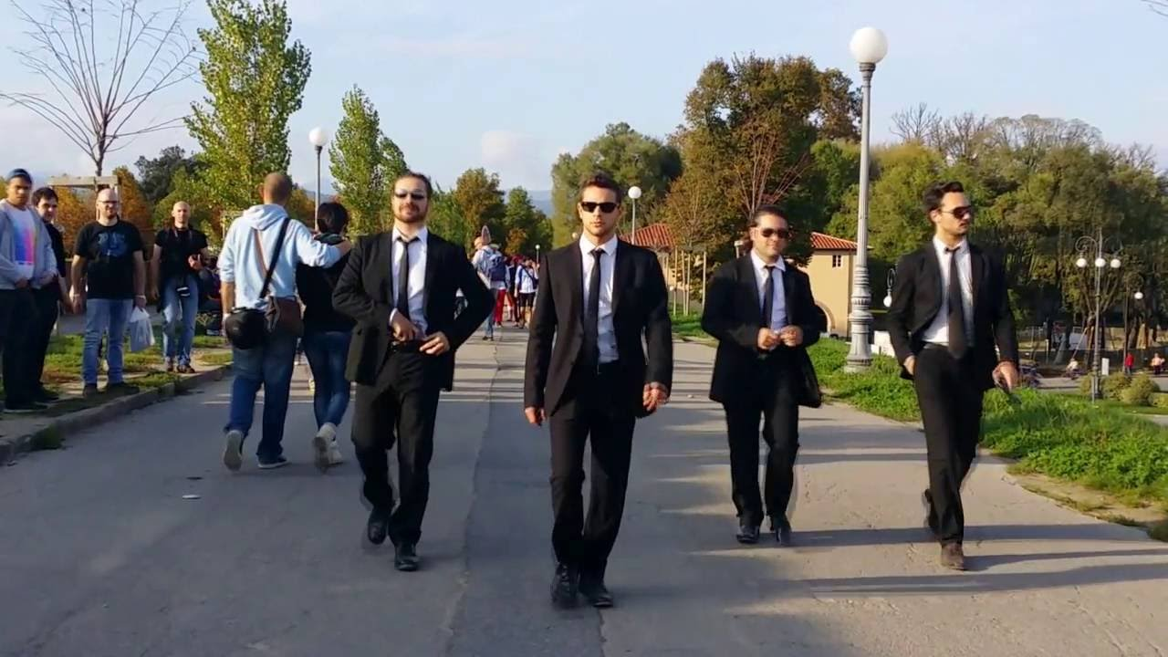 Today in Movie Culture: Marvel Cinematic Universe Recap ...  Reservoir Dogs Cosplay