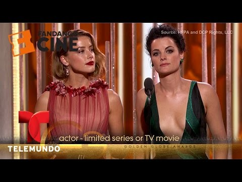 Thumbnail: The funniest moments of the Golden Globes 2016 | Fandango | Telemundo English
