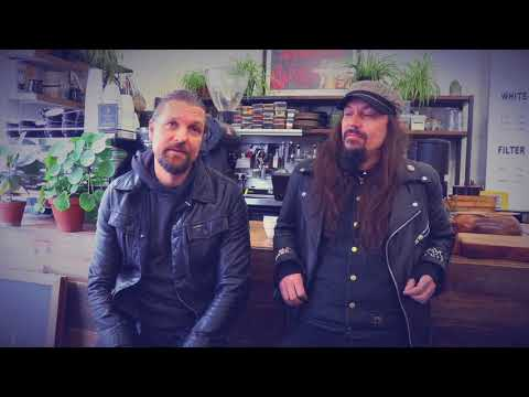 AMORPHIS - Esa and Tomi visit Dark Arts Coffee in London (OFFICIAL TRAILER)