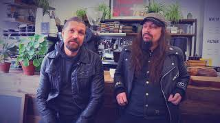 AMORPHIS  Esa and Tomi visit Dark Arts Coffee in London OFFICIAL TRAILER