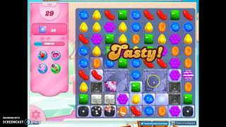 Candy Crush Level 505 Audio Talkthrough, 2 Stars 0 Boosters