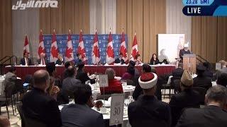 Parliament Hill, Ottawa, Canada: Historic Address by Khalifa of Islam - Islam Ahmadiyya