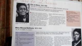 Paula pt1- Mary McLeod Bethune