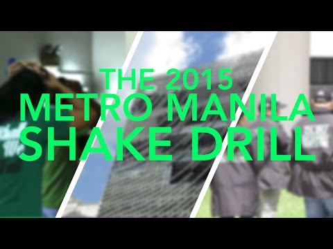 DLSU participated in the Metro Manila Shake Drill | ARCH News & Current Affairs