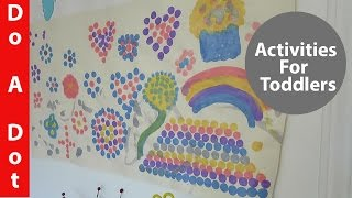 Do A Dot - 6 Reason We Love Do A Dot - Activities For Toddler At Home