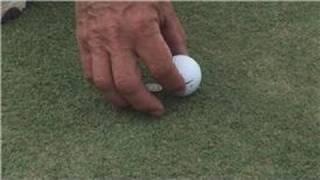 Golf Tips : Golf Ball Marker Rules