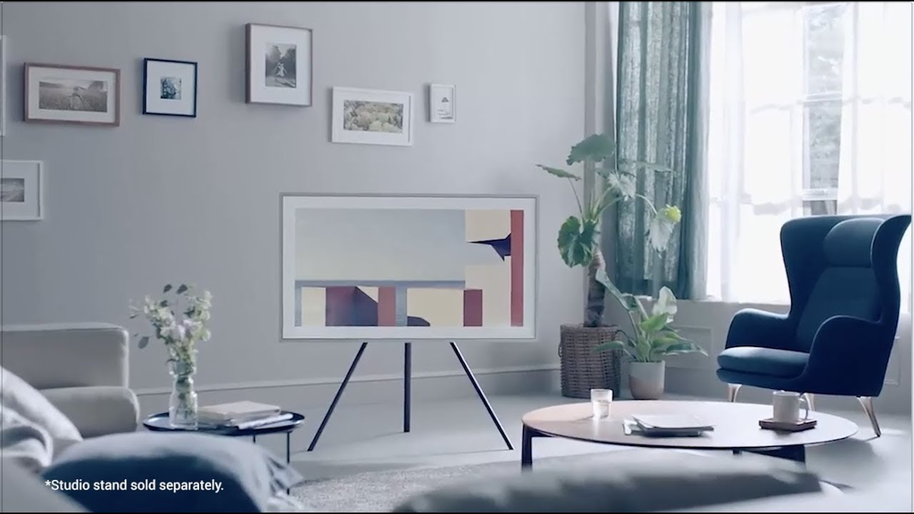 Samsung The Frame - Artistic 4K Televisions - YouTube
