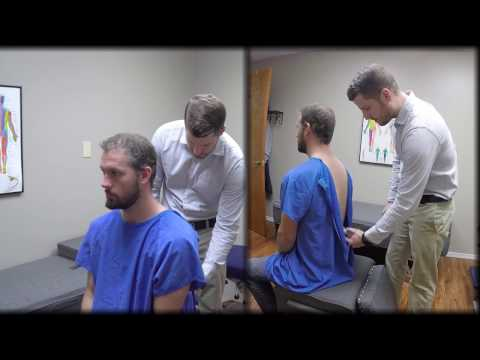 Neck and Lower Back Gonstead Adjustment in Fayetteville AR | Reddell Family Chiropractic