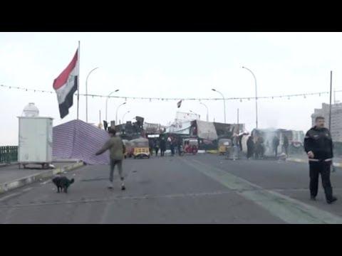 Three rockets fall near U.S. embassy in Iraq