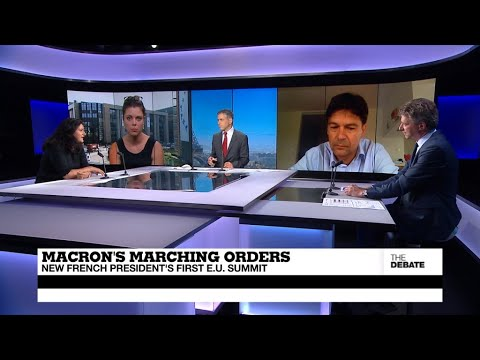 Macron's marching orders: New French President's first EU summit (Full debate)