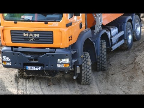 Best of RC Trucks - Outtakes from the RC Construction Site - Big RC Fun!