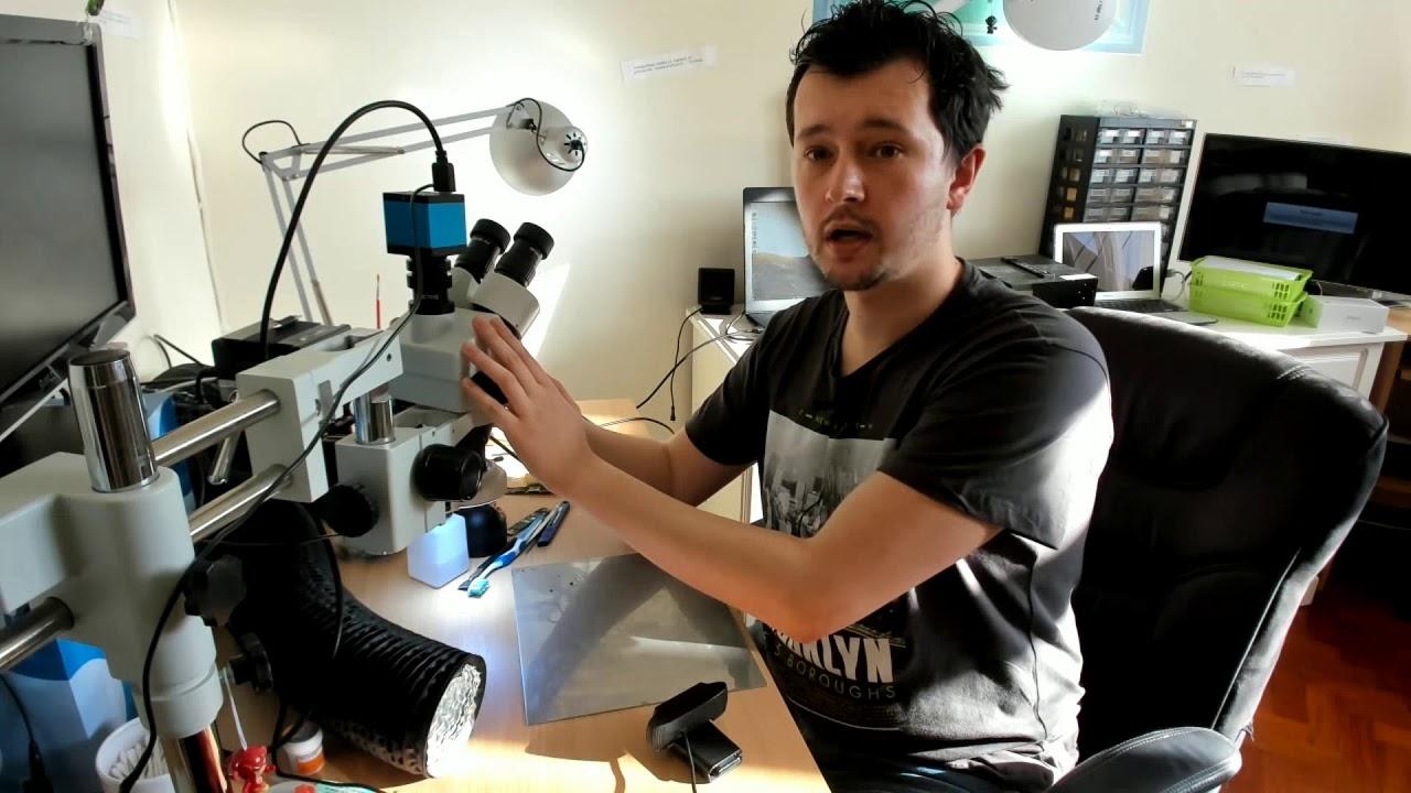 Mikroskop cyfrowy andonstar adm lcd hdmi usb full hd cz