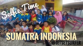 Selfie Time in Sumatra Indonesia, Liberty Language and Math School
