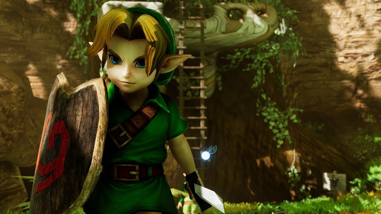 Legend Of Zelda: Ocarina Of Time, Beautifully Remastered Using